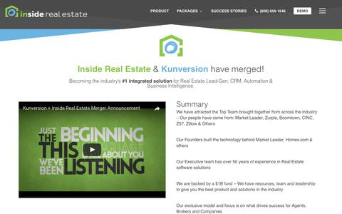 About | Inside Real Estate | Lead Generation + Websites + CRM + Reporting + Powerful Performance