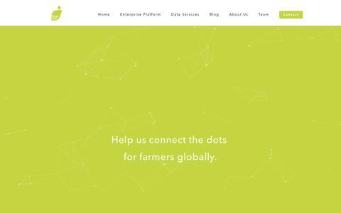 Screenshot of Jobs Page kisanhub.com - Careers at KisanHub  |      Powering data-driven agri-enterprises of tomorrow - captured Aug. 9, 2016