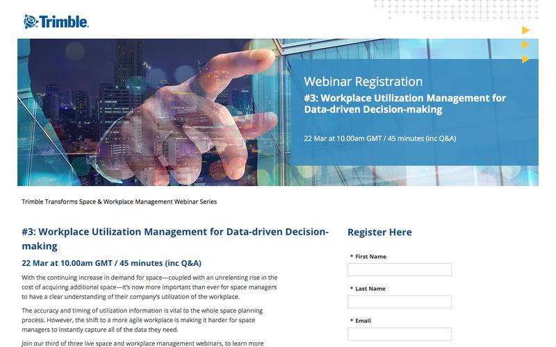 Workplace Utilization Management for Data-driven Decision-making