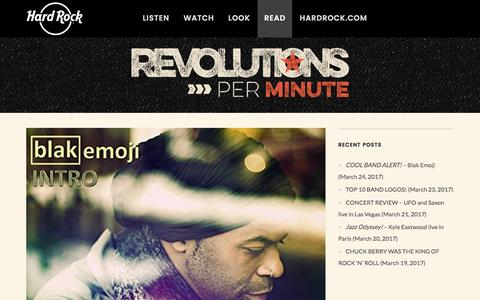 Read – Hard Rock presents Revolutions Per Minute