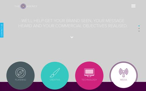 Screenshot of Services Page theagencyonline.co.uk - Services | The Agency - captured Oct. 30, 2014