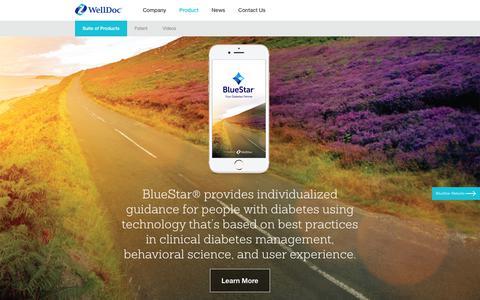 WellDoc's BlueStar Digital Therapu | WellDoc
