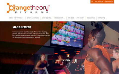 Orangetheory Fitness > Corporate > Management