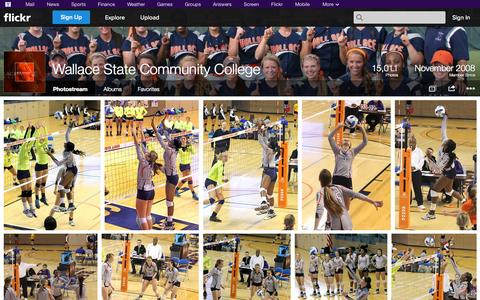 Screenshot of Flickr Page flickr.com - Flickr: Wallace State Community College's Photostream - captured Oct. 27, 2014
