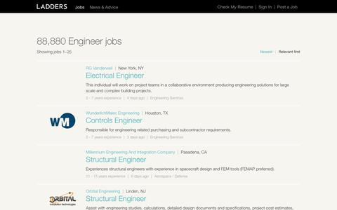 Engineer Jobs | Ladders