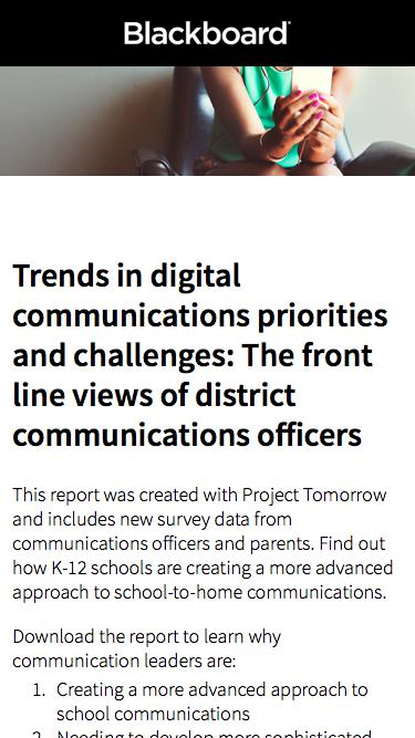 Trends in Digital Communications Report