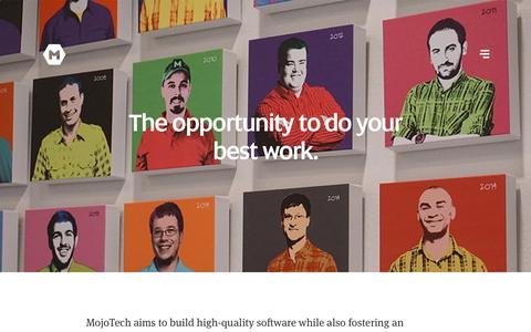 Web Design & Development Jobs | MojoTech - Providence, New York, Boulder