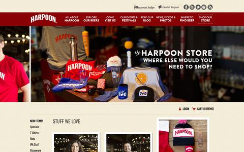 Shop Our Store - Harpoon Brewery