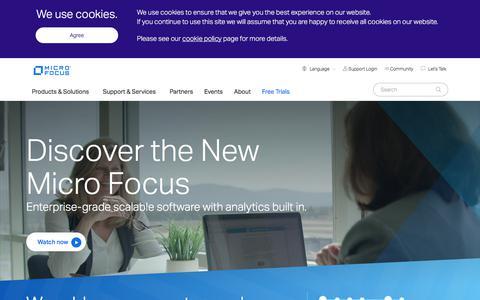 Build, Operate, & Secure Enterprise Software   Micro Focus