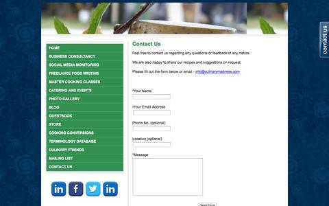 Screenshot of Contact Page webs.com - Contact Me - - captured Sept. 13, 2014