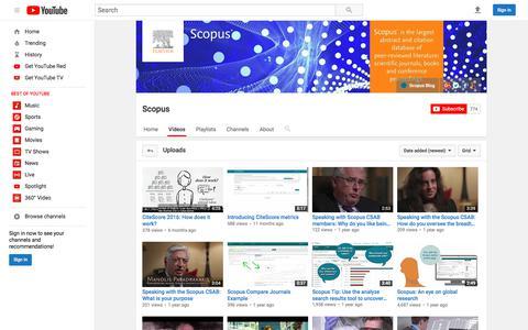 Scopus  - YouTube
