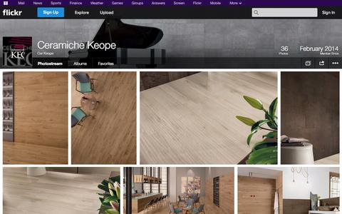 Screenshot of Flickr Page flickr.com - Flickr: Cer Keope's Photostream - captured Oct. 22, 2014