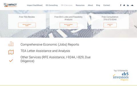 EB-5 Services – Impact DataSource