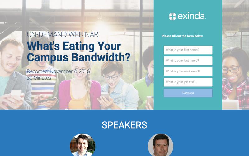 What's Eating Your Campus Bandwidth? | Exinda