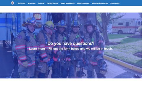 Screenshot of Signup Page wvrs.org - Join Now – Wheaton Volunteer Rescue Squad - captured Oct. 20, 2017