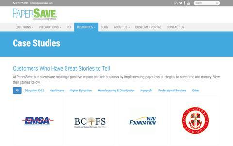 Case Studies - Miami, Coral Gables, Hialeah | PaperSave