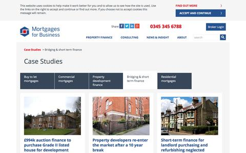 Bridging finance case studies | Mortgages for Business