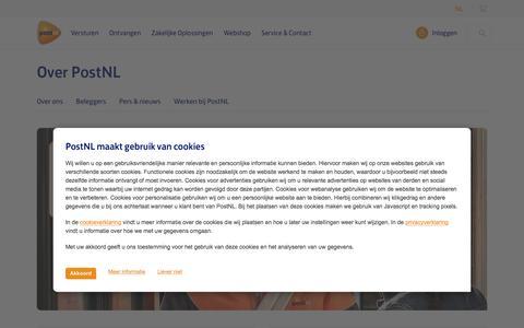 Over PostNL | PostNL