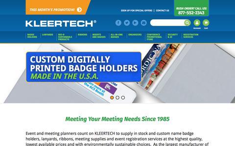 Pre-Printed Name Tags   Name Badge Holders   Meeting Supplies