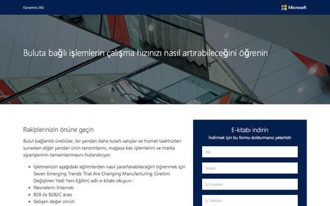 Screenshot of Landing Page microsoft.com - Microsoft - captured Dec. 12, 2016