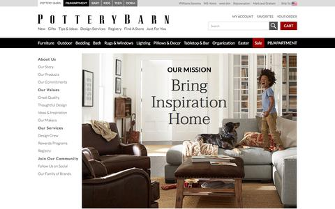 About Us | Pottery Barn