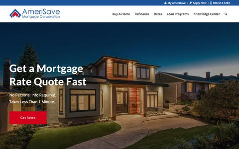 AmeriSave Mortgage Corporation   Search Current Mortgage Rates