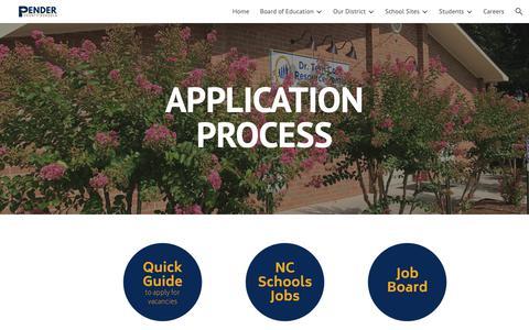 Screenshot of Jobs Page google.com - Application Process - captured Oct. 31, 2018
