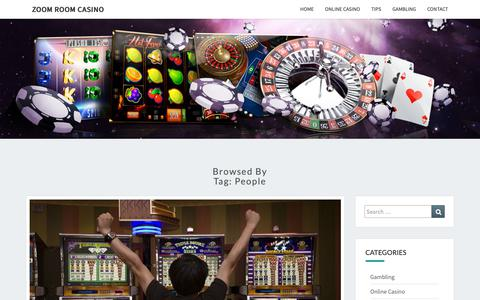 Screenshot of Team Page zoomroom.co.nz - People Archives - Zoom Room Casino - captured Nov. 19, 2018