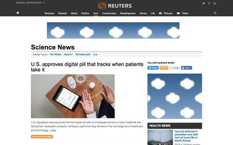 Science News | Reuters.com