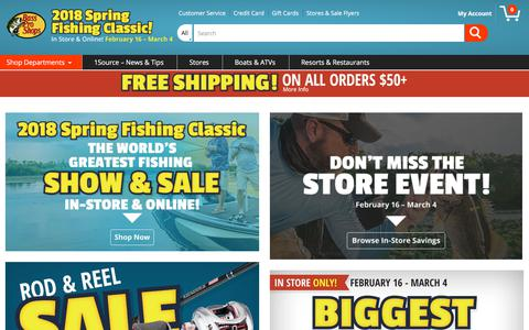 The Best in Fishing, Hunting and Boating Gear | Bass Pro Shops