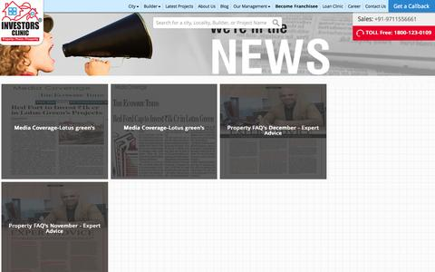 Screenshot of Press Page investors-clinic.com - IC - News - captured Aug. 5, 2015