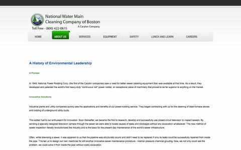 Screenshot of About Page nwmcc-bos.com - About Us - captured Oct. 26, 2014