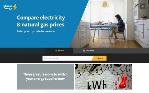 The Power To Choose Energy Is Yours - Switch & Save | Choose Energy