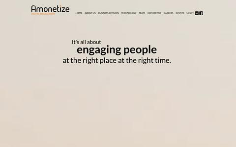 Amonetize - Digital Engagement Technologies