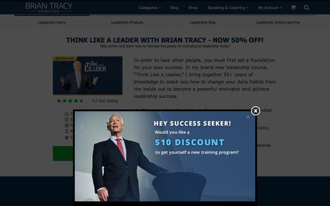 Leadership Training Programs, Courses, Tips and Activities | Brian Tracy