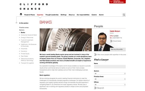 Clifford Chance | Banks