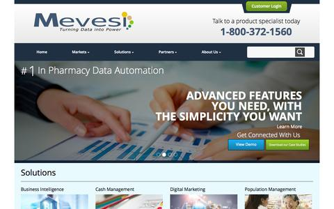 Screenshot of Home Page mevesi.com - Mevesi -       Home - captured Oct. 6, 2014