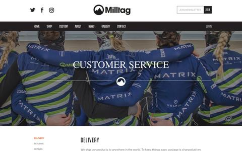 Screenshot of FAQ Page Support Page milltag.cc - Milltag - captured Aug. 12, 2016