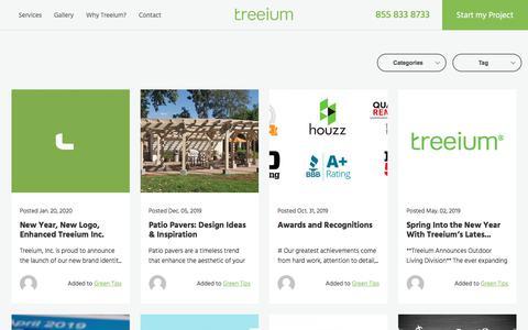 Screenshot of Blog treeium.com - Blog | Treeium - captured Jan. 25, 2020