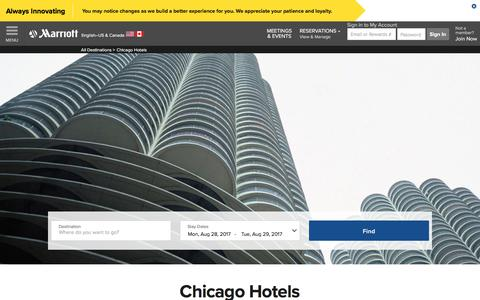 Top Hotels in Chicago | Marriott Chicago Hotels