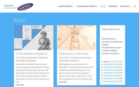 Screenshot of Blog hartsupport.nl - hartsupportblog; blogs over relevant geachte onderwerpen - captured May 15, 2017