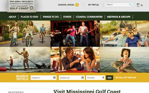 Screenshot of Jobs Page gulfcoast.org - Mississippi Gulf Coast Official Website - Hotels, Restaurants, Beaches, Casinos - Vacation Information for Gulfport, Biloxi Region and More - captured Sept. 22, 2018