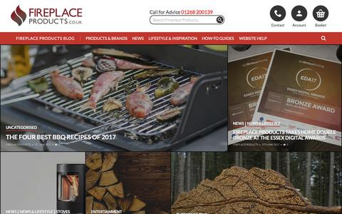Screenshot of Blog fireplaceproducts.co.uk - Fireplace Products Blog - The home of all things Fireplace Products - captured June 7, 2017