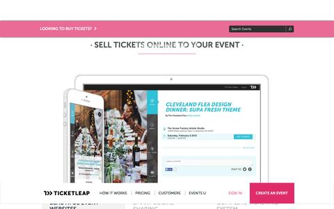 Sell Tickets Online | Ticket Sales | Event Ticketing