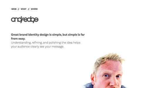 andyedge // Brand Identity & Graphic Design