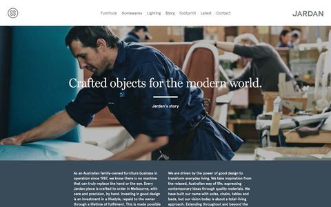 Screenshot of Jobs Page jardan.com.au - Story - Jardan - captured Sept. 23, 2014