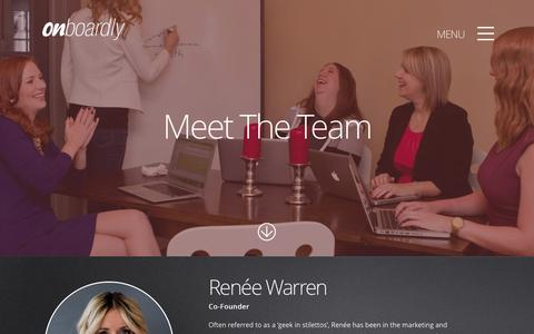 Screenshot of Team Page onboardly.com - Team - Onboardly - captured Oct. 29, 2014