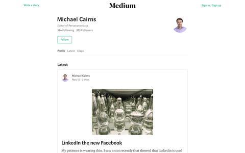 Michael Cairns – Medium