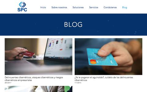 Screenshot of Blog spcinternacional.com - Blog   SPC Internacional - captured July 26, 2018
