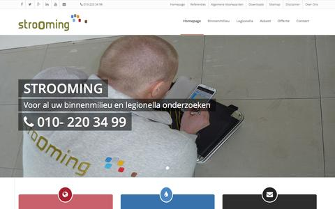 Screenshot of Home Page strooming.nl - Strooming.nl | - captured Feb. 25, 2016